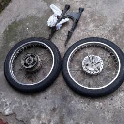 Roda CG 150 raiada