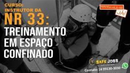 Título do anúncio: CURSO DE INSTRUTOR NR33- TREINAMENTO EM ESPAÇO CONFINADO