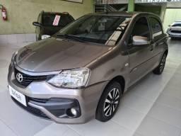 Toyota etios x 1.3 automatico completo