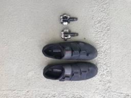 Sapatilha + Pedal Clip Shimano