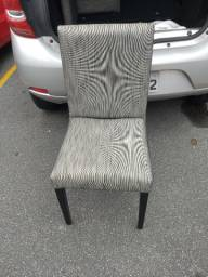 Cadeiras lindas acolchoadas