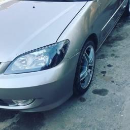 Civic Lx Automatico 2002 frente 2004
