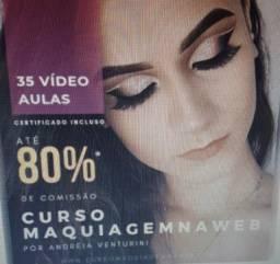 Curso maquiagem na Web 1.0 Andreia Venturini