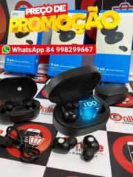 Fone De Ouvido Bluetooth E6s True 5.0 de cores variadas com painel marcador