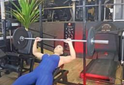 Cavalete com regulagem de altura para diversos exercícios