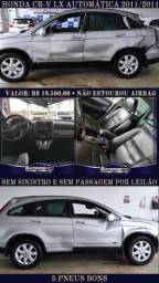 Honda CR-V LX automática 2011/2011 Sem Sinistro