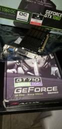 PLACA DE VIDEO GT710 2GB NOVA