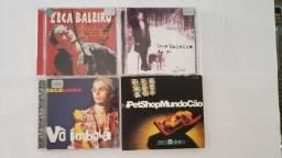 Lote 4 CDs - Zeca Baleiro
