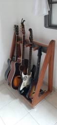 Faço suporte para instrumentos sob encomenda (preço a combinar)