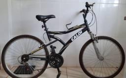Bicicleta Caloi Andes 21 Marchas Suspensão Dianteira Aro 26