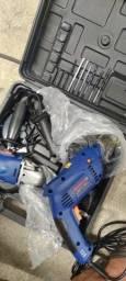 Furadeira e lixadeira Bosch novas