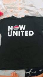 Camiseta do NOW UNITED