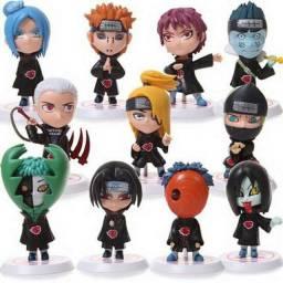 Kit Akatsuki Naruto Shippuden Lote com 11 Personagens