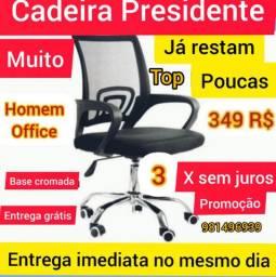 Linda cadeira de escritório