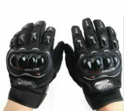 Luvas de proteção para motoqueiro