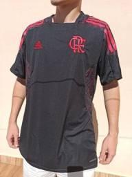 Camisa de Time do Flamengo Viagem 2021 Lançamento