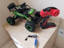 Brinquedo Carrinho Controle Remoto 37cm Off Road 4x4
