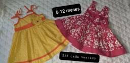 Roupas de bebê 6-12 meses