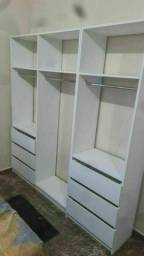 Closet com 2m de largura 100% MDF promoção tenho outros modelos também m