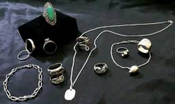 Jóias antigas em prata