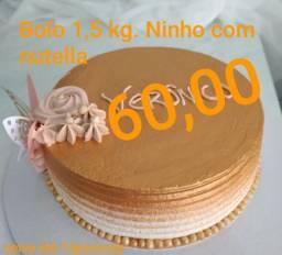 Promoção Bolo 1,5KG NINHO com nutella