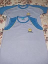 Farda escola Adventista Camisas Novas