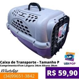 Caixa de Transporte Luxo Furacão Pet