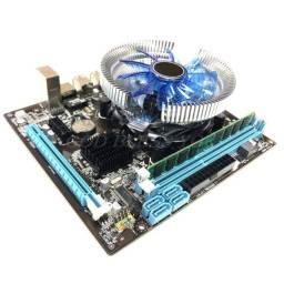 1set Hm55, Processador 1156, 4GB De Memória, Processador i3 - Kit Completo
