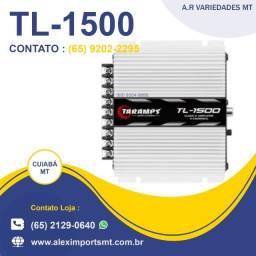 Módulo Amplificador 390w Rms 3 Canais Taramps Tl-1500 Bom