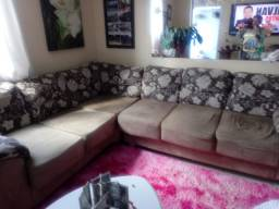 Sofa retrátil de canto