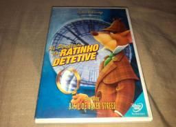 DVD As Peripécias do Ratinho Detetive - Disney