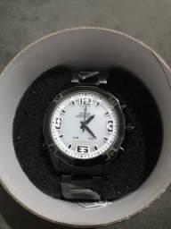 Relógio Masculino Anadigi Weide Casual WH-2306 Preto e Branco **2yV5C6Q