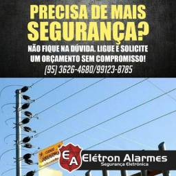 Segurança é na Elétron Alarmes