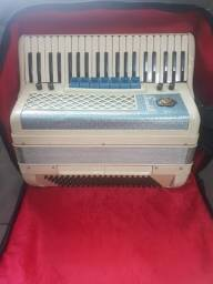 Acordeon Scandalli 120 Com Captação Harmonik