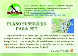 Cemitério Pet - Jazigo e Plano Funerário