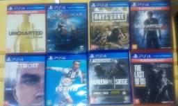 Jogos de PS4 original na caixa 2019 ou (unid)