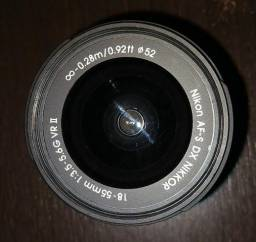 Câmera nikon d5300 vermelha seminova (quase nunca usada)