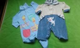 Lote bebe menino rn p m g 50 pecas por 55$