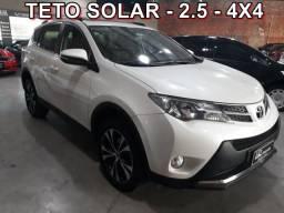 RAV4 2014/2015 2.5 4X4 16V GASOLINA 4P AUTOMÁTICO - 2015