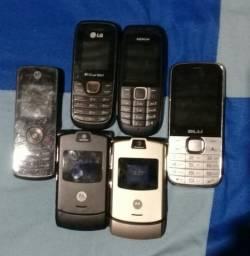 Vendo Esses aparelhos celular por preço de desapego