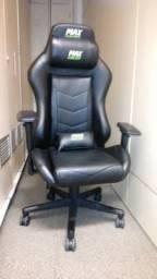 Cadeira Gamer Maxracer Regen Preto/verde Rgn-5 C/ Massagem