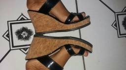 Sapato com salto Plata forma