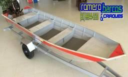 Barco de 6 Metros Semi Chata