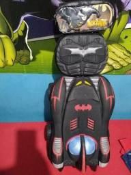 Mochila infantil,kit Batman.