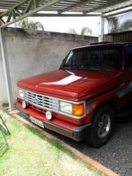 Chevrolet D20 custon L 4.0 ano 90 turbo diesel vermelha - 1990