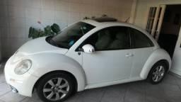 VW- New Beetle 2.0 Cor Branco Com Teto Solar Ano 2006/2007 - 2007