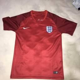 Camisa Inglaterra vermelha away copa do mundo 2018 9c24b7957008a