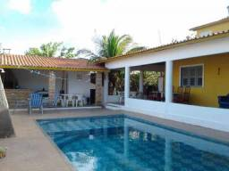 Alugo linda casa no pecém fim de semana com 4 suítes, piscina e deck r$ 600,00 de sexta a