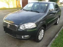 Fiat Siena 1.4 tetrafuel (gnv original) bom estado troco menor valor - 2008