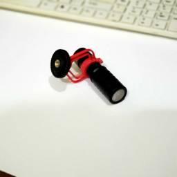 Microfone para câmeras e celulares